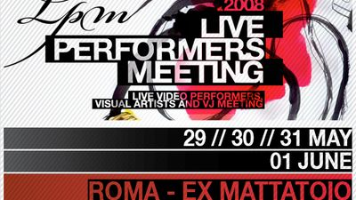 Image for: LPM 2008 - Live Performers Meeting