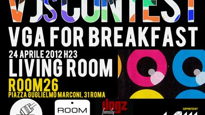 Image for: LPM 2012 Rome | VJs Contest @ Living Room #2