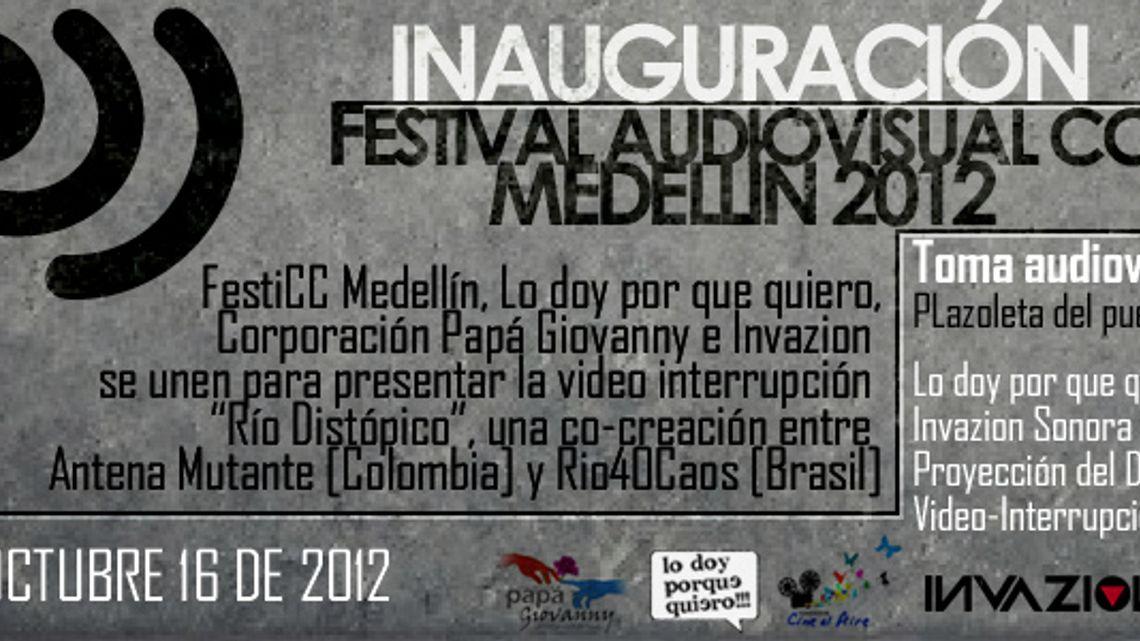 Video Interrupcion :: creacion colaborativa :: Medellin