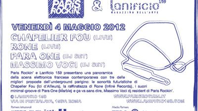Image for: LPM 2012 Rome | Rone + Para One Suona Francese