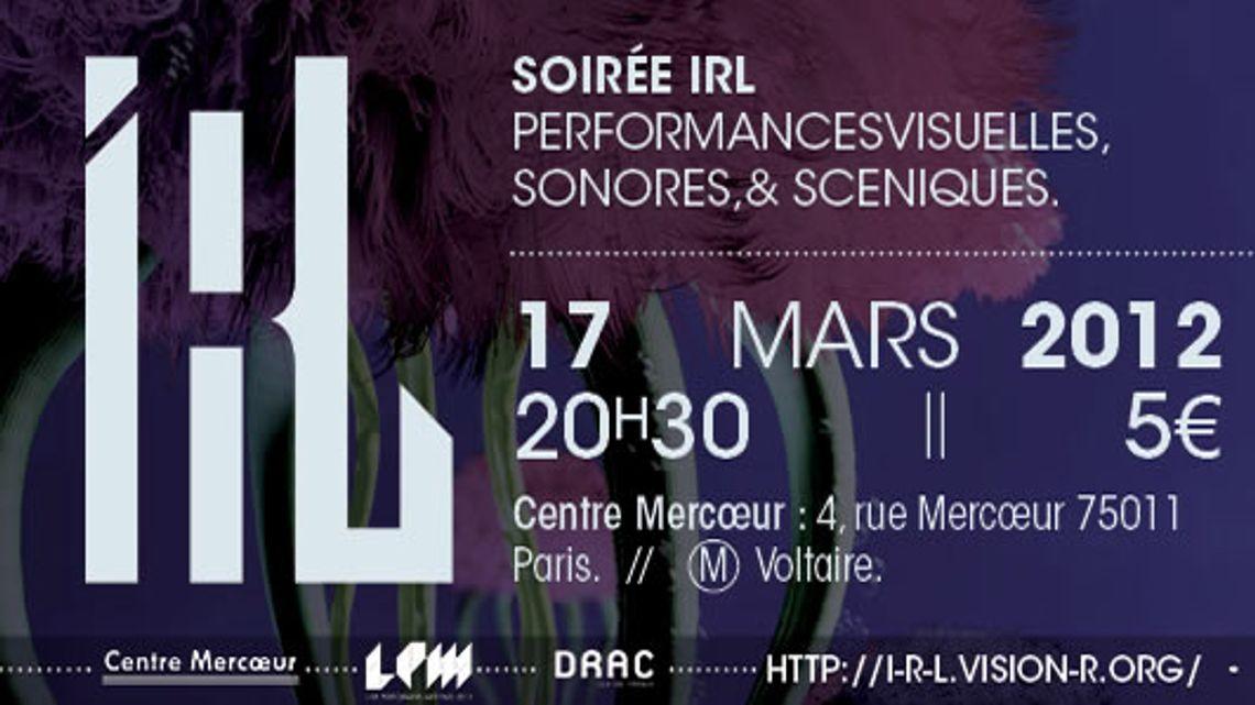 Vision'r 2012  Soirée IRL – Mars