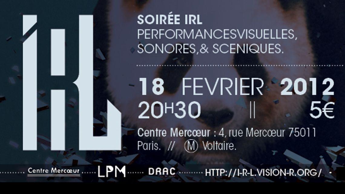 Vision'r 2012| Soirée IRL – Fevrier