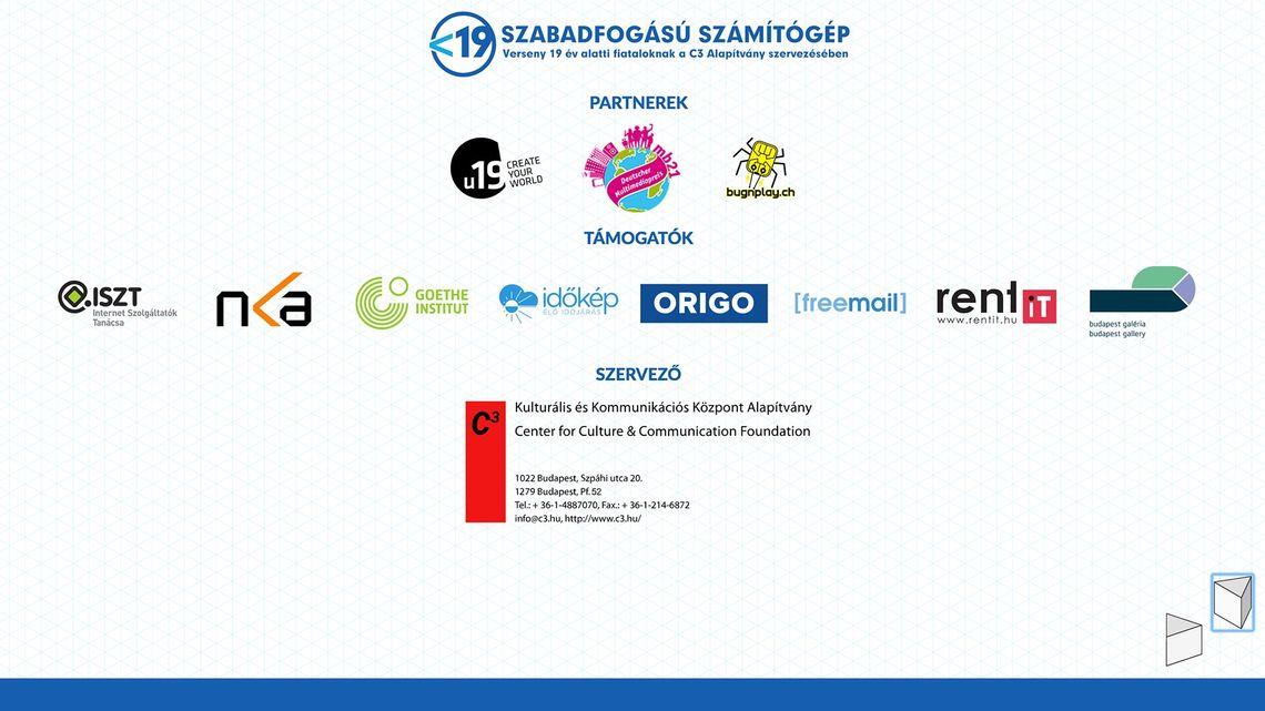 <19 Freestyle Computing Competition, Awarding Ceremony 2016