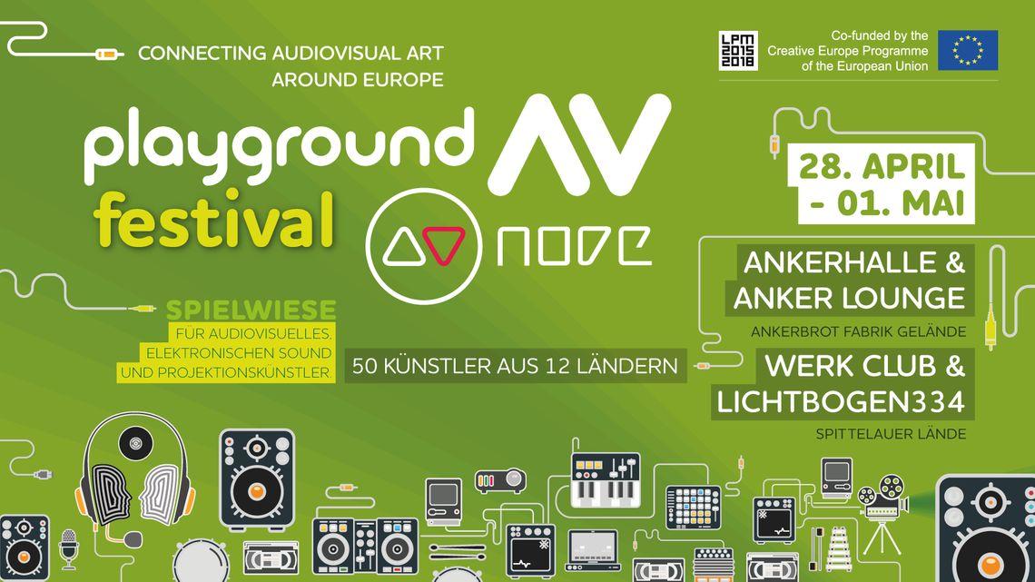 Playground AV Festival 2016 | LPM 2015 > 2018