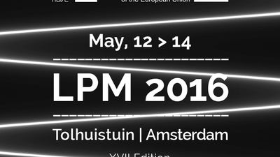 Image for: LPM 2016 Amsterdam