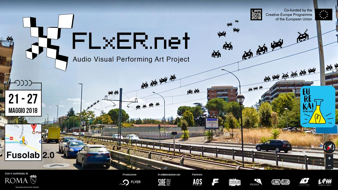 FLxER Audio Visual Performing Art Project