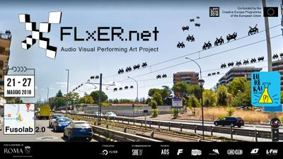 Image di: FLxER Audio Visual Performing Art Project