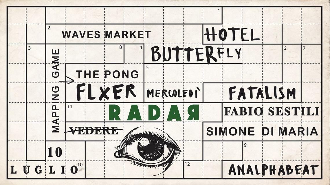 Radar 2019 Hotel Butterfly Vedere