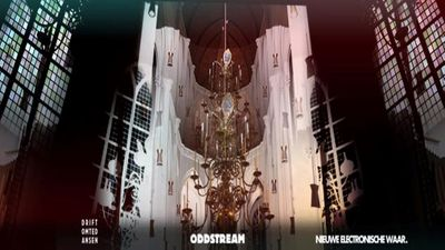 Oddstream On Stage - Lichtkunst expositie in de Stevenskerk