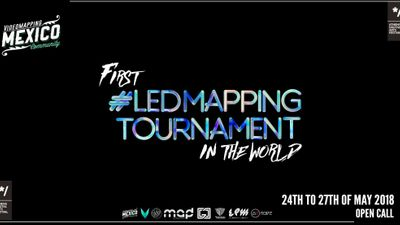 FIRST LED MAPPING TOURNAMENT in the World
