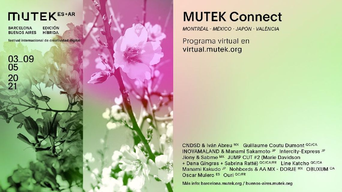 MUTEK.AR+ES: a collaborative hybrid edition