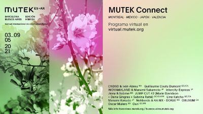 Image for: MUTEK.AR+ES: a collaborative hybrid edition