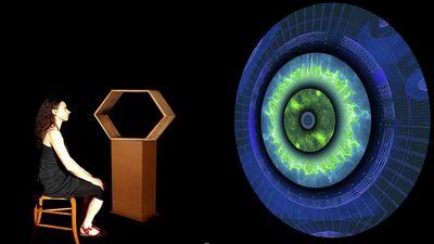 IRIS - Interactive Installation by Scenocosme