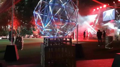 Geodesic Led Sphere
