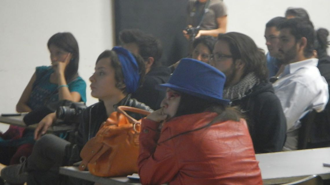 2013 MEX 25th Workshop Teatro de las Artes Classroom