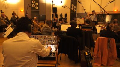 Recording Session, Prague, Czech Republic, Nov. 2013