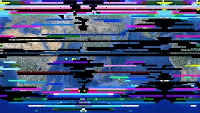 earth-glitch