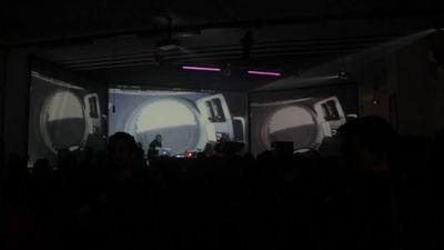 Liminal #1 - live visual by Kanaka project
