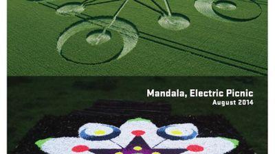 Crop Circle  Festival Mandalas