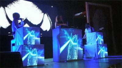 Vj set Videomapping
