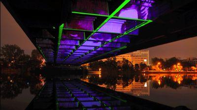 lichtanlichtaus videoinstallation videomapping frankfurt