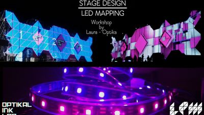 Stage Design and LED Mapping