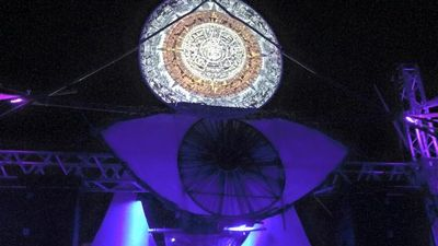 Cosmic Convergence festival 2015 Stage Visuals
