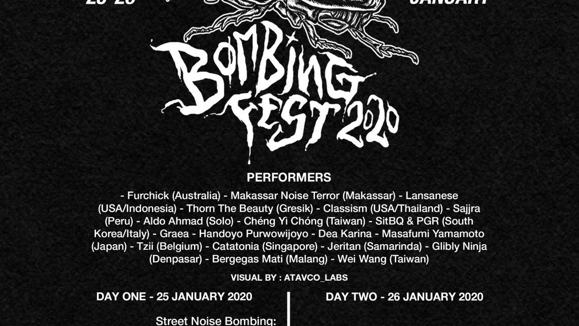 Jogja Noise Bombing Festival 2020