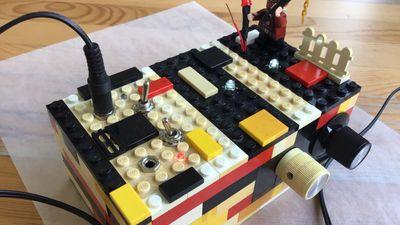 Dual Atari Lego Punk Console