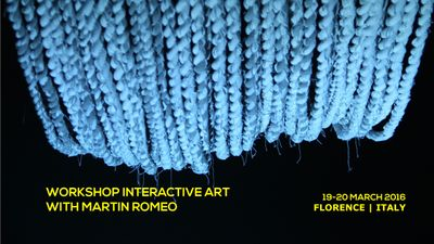 Workshop Interactive Art | Toolkit Festival