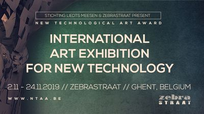 Image for: Open Call and Prize – International Art Exhibition for New Technology