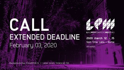 Image for: LPM 2020 Rome Extended Deadline