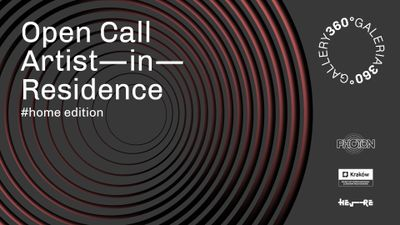 Image for: OPEN CALL FOR ARTISTS IN RESIDENCE AT THE 360° GALLERY