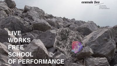 Open call: LIVE WORKS – Free School of Performance