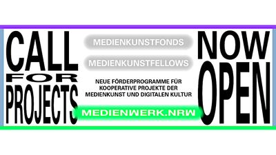 Open Call: Media Art Fund & Fellows