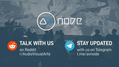 Image for: AVnode on Reddit & Telegram