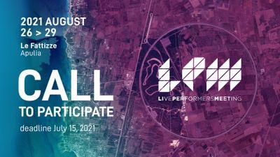 LPM 2021 Apulia | Call to Participate