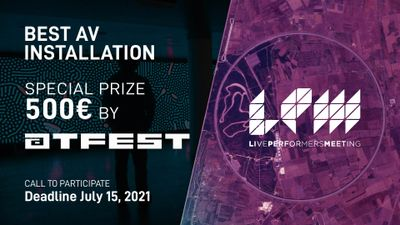 Image for: LPM News: 500 € SPECIAL PRIZE from atFest to the best installation