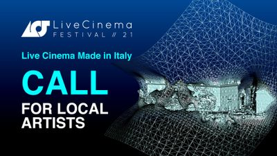 Image for: Open Call Live Cinema Made in Italy 2021