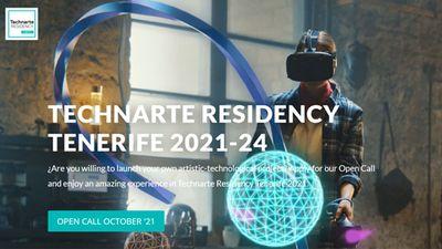 Image for: TECHNARTE RESIDENCY TENERIFE 2021-24