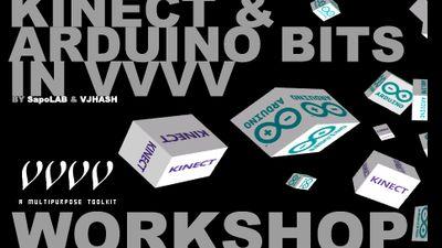 Kinect & Arduino bits in VVVV [€ 90]
