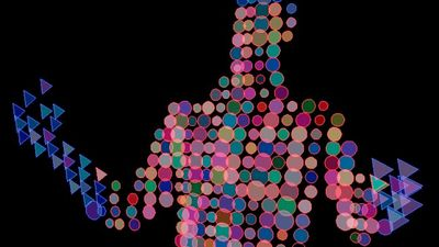 Generative Visuals using Kinect for Processing