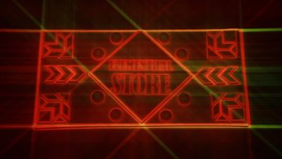 Projection Mapping - Elementhal Store