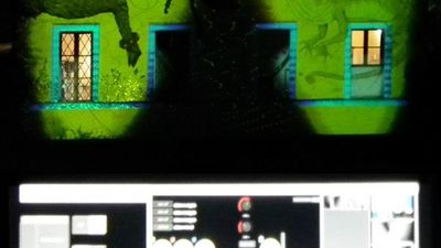 SOLID LIGHT_ live 3d videomapping