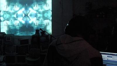 DITHERNOISE Live AV set