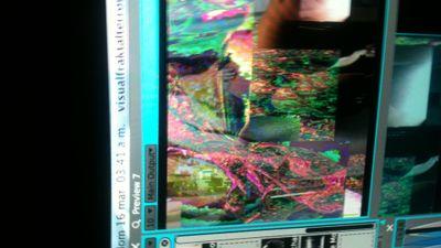 i love glitch Live Cinema