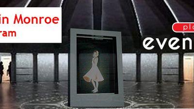 Hologram Marlin Monroe