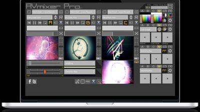 AVmixer Pro by its creator VJ Fader