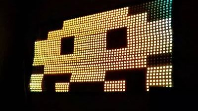 Pixel pusher & LED visuals performances