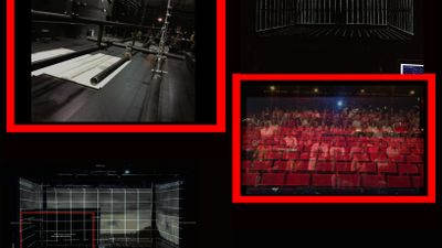 Video projection for theatre: technical and creative jobs